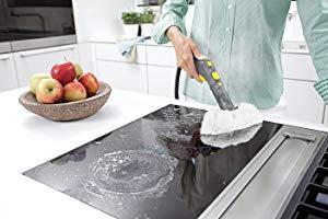 nettoyer la cuisine avec un nettoyeur vapeur